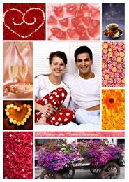 Постеры к 14 февраля - Все краски любви